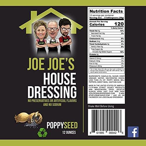Joe Joe's House Poppy Seed