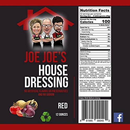 Joe Joe's House Red Dressing