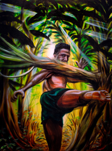 """""""The Art of Eight Limbs"""" By Arsenio Baca"""