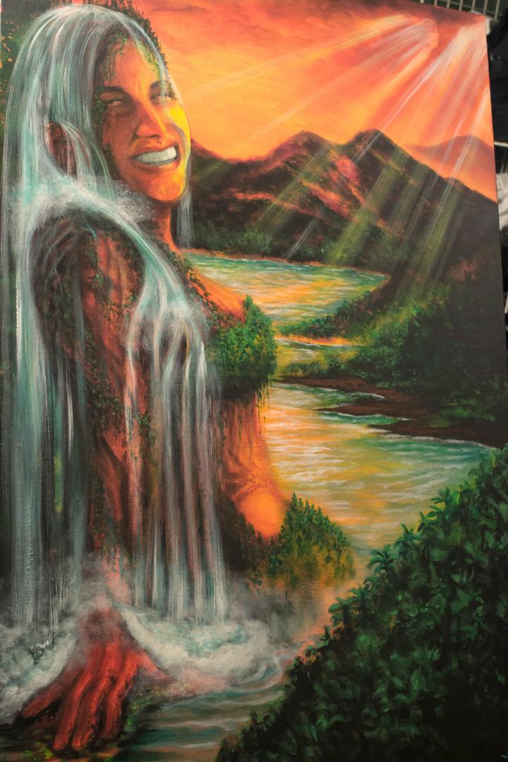 """""""Memorial Waterfall"""""""