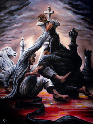 """""""Checkmate"""" By Arsenio Baca"""