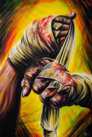 """Hand Wraps"" By Arsenio Baca"