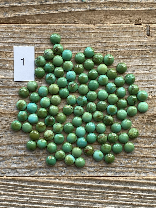 5mm Rounds Sonoran Gold
