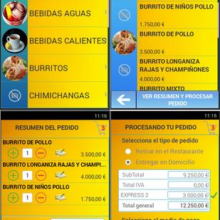 Pedidos Clientes - App Android