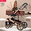 Thumbnail: Belecoo® - 2 in 1 High Landscape Luxury Baby Pram
