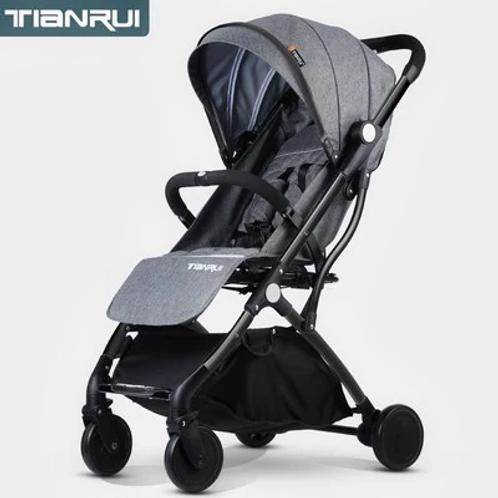 Tianrui® - Travel Baby Stroller Folding Trolley Car