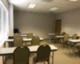 Suite 800 set up classroom style