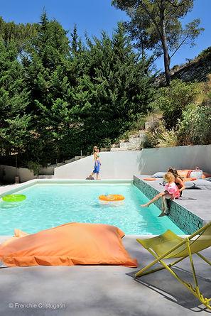 arty provence maison hote chambre piscine