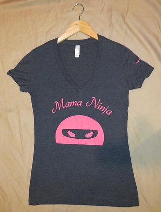 Mama Ninja (Gray and Pink)