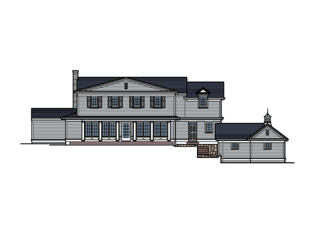 Colonial Addition & Carriage House