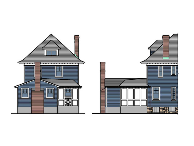 Colonial Revival Addition