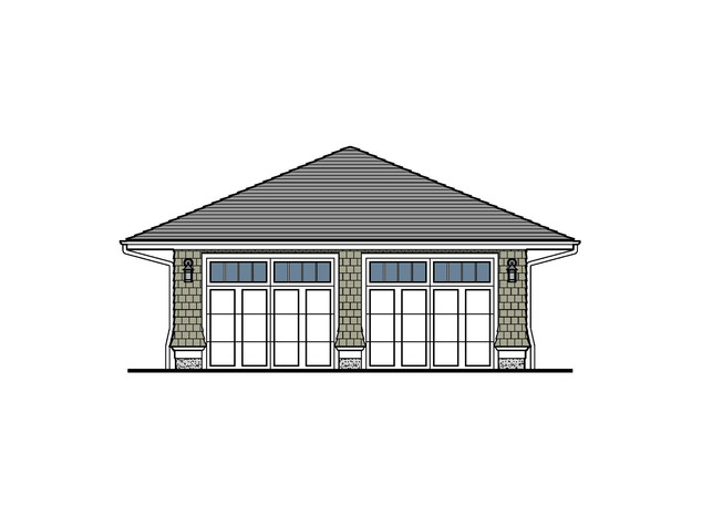 Shingle Style Carriage House