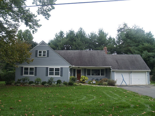 Before Craftsman Exterior Transformation in Madison, NJ
