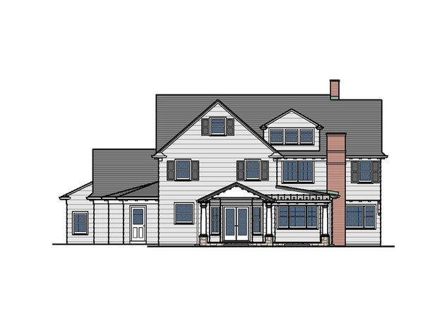 Colonial Porch Addition