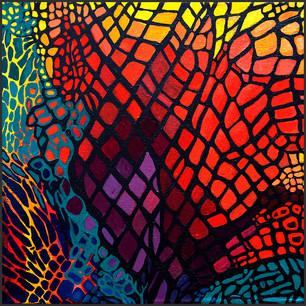 Patterns #1 (Lisa Frank)
