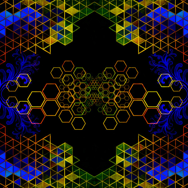 Rainbow Honeycomb (edit 2)