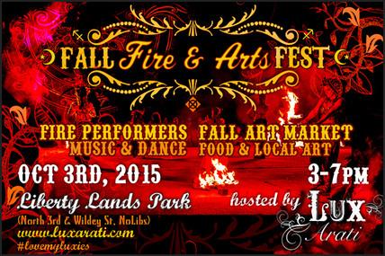 Fall Fire & Arts Fest