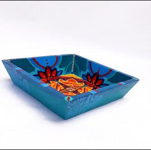 Flower Mandala Tray