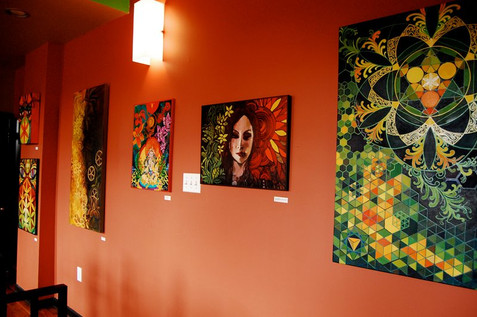 Solo show at Buzz Cafe Philly