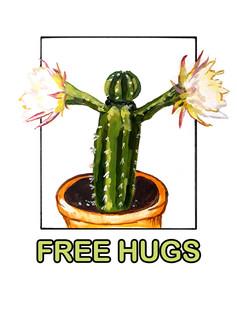 Free Hugs, Cacti Card