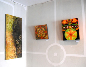 Solo show at Grindstone