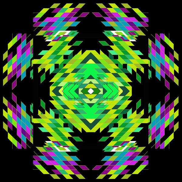 Future Mandala (Diamonds, Winning)