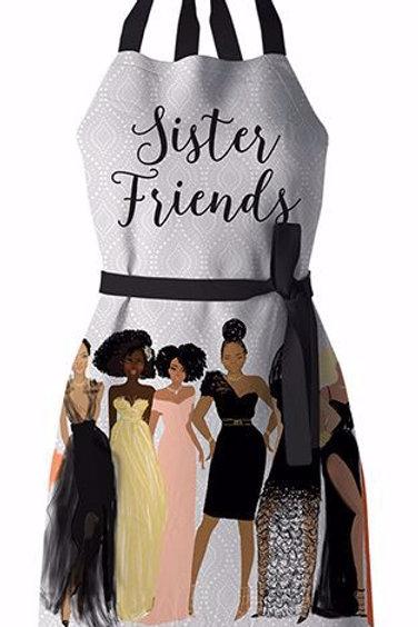 Sister Friends Apron