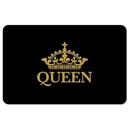 SM10 Black Queen Floor Mat