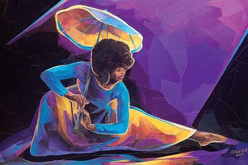 Praise Dancer With Umbrella