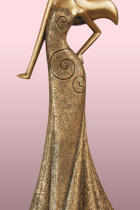 Bronze Fashion Woman