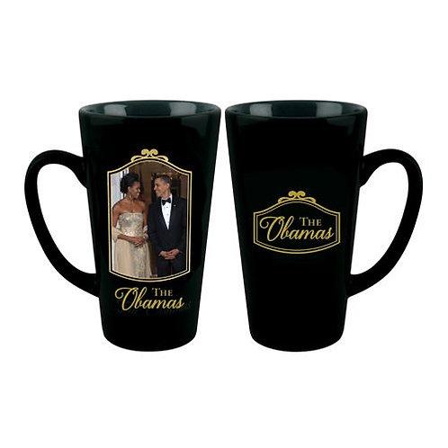 The Obamas 2016 Latte Mug