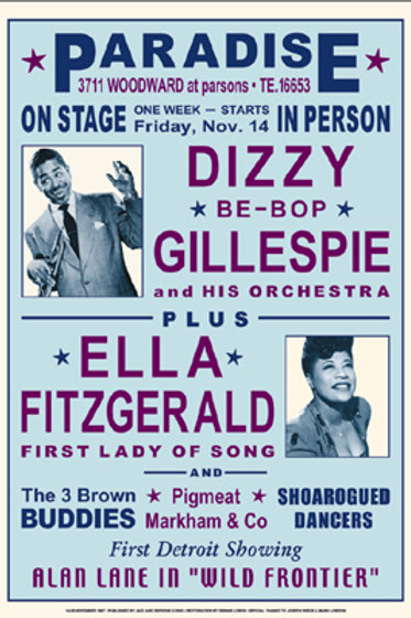 Dizzy Gillespie & Ella Fitzgerald  Detroit, 1947
