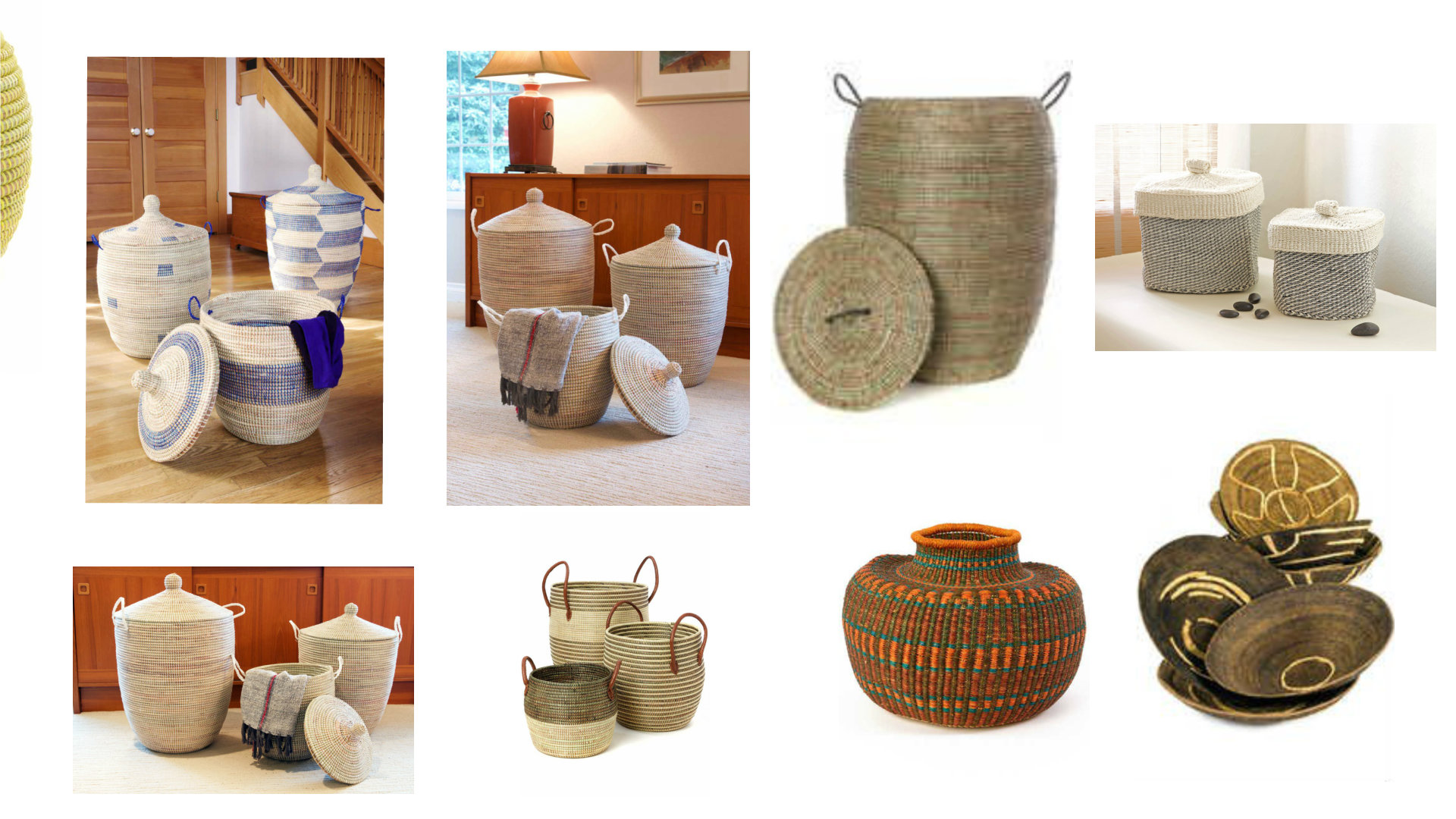 African Hand Crafted Baskets