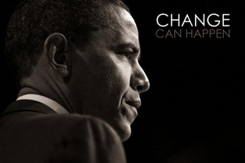 Barack Obama : Change can Happen
