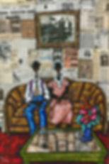 Hand Embellished Giclee on canvas  Sojourner Art Gallery