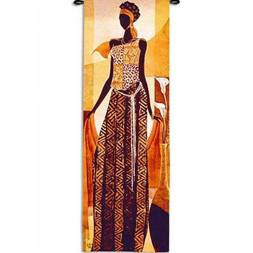 Malaika Global Tapestry Wall Art