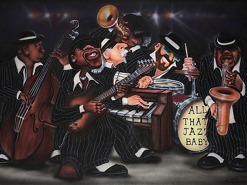 All That Jazz Baby - 35   x   25