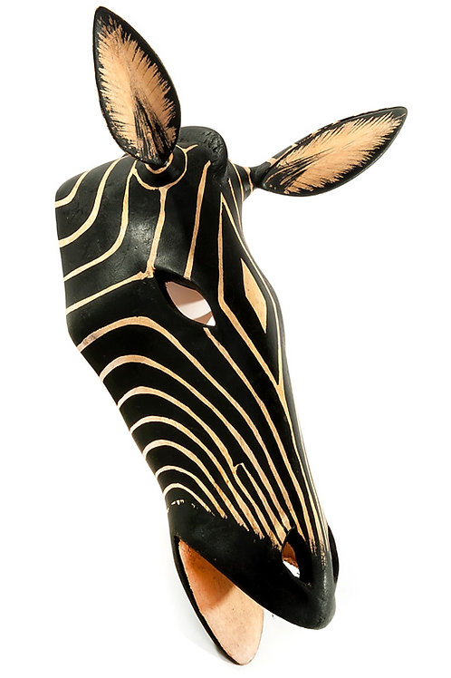Striking Zebra Wall Mask