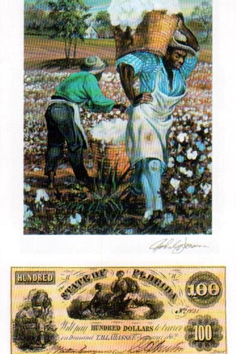 Slaves Carrying Cotton : Florida