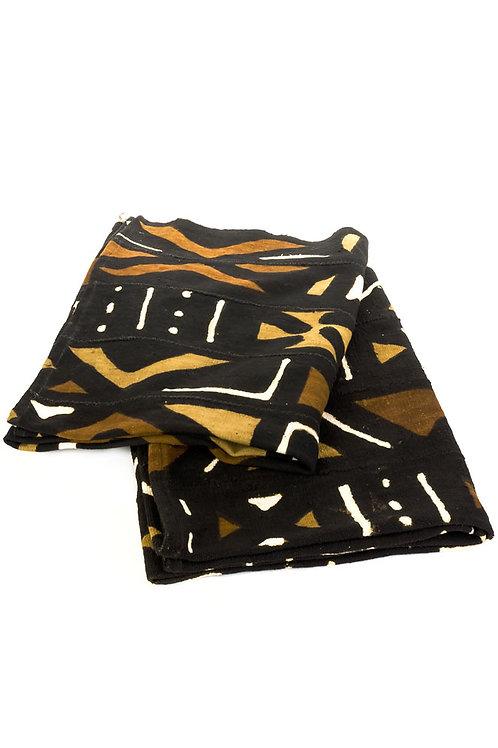 Bogolan Throw Blanket from Mali
