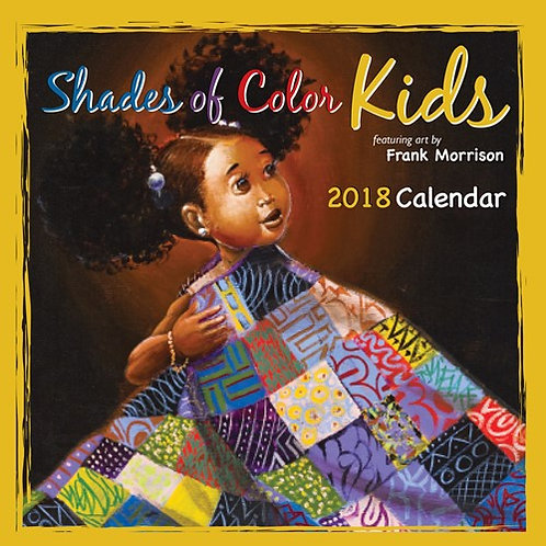 2018 Shades of Color Kids Calendar