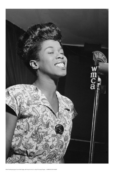 Sarah Vaughn WMCA Microphone
