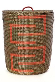 Black and Red Kumba Sahara Basket