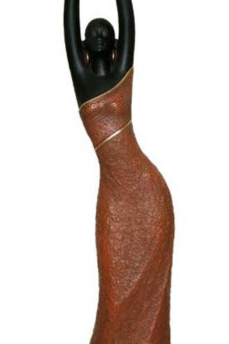 """18"""" Woman Brown - 25736"""