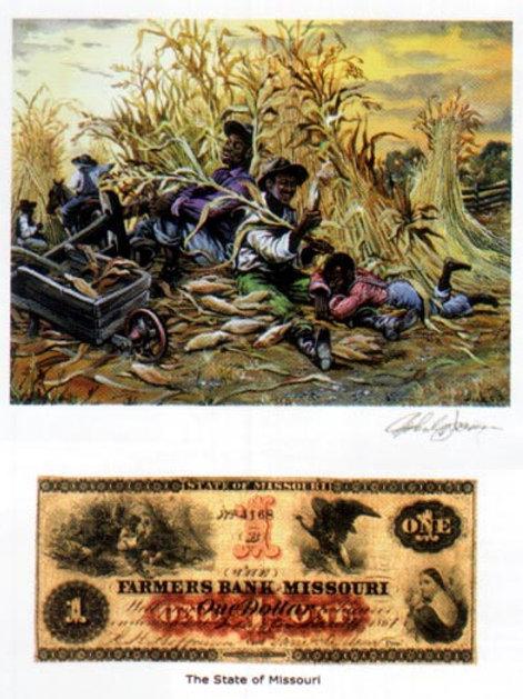Slaves Nooning :  Missouri