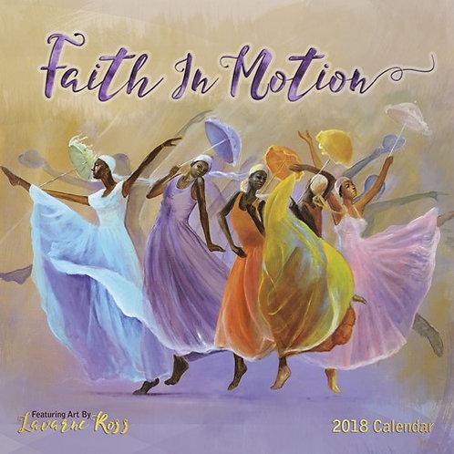2018 Faith In Motion Calendar