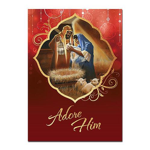 C-920 Adore Him Nativity