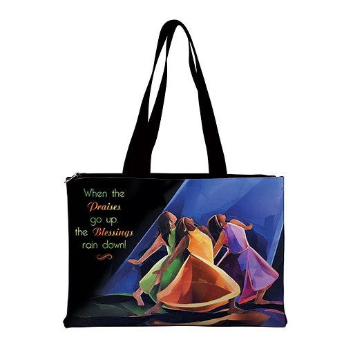 Praises Go Up  - Handbag