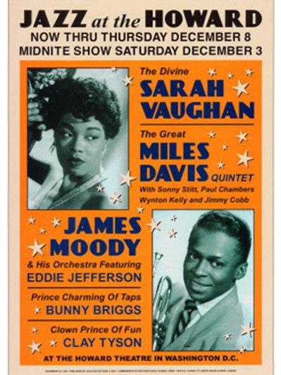 Sarah Vaughan & miles Davis :Jazz at the Howard
