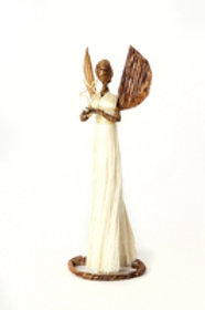 Angel of Light Holiday Sculpture - Small